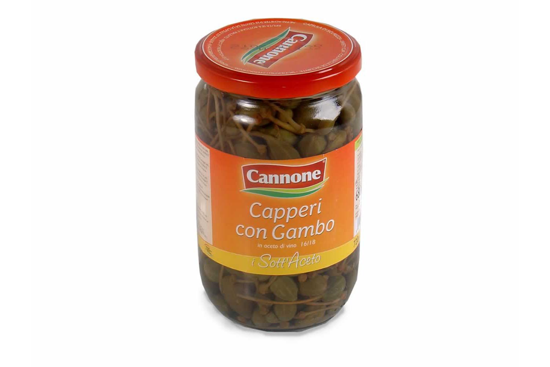 CAPPERI CON GAMBO CONFEZIONE DA 720 ML