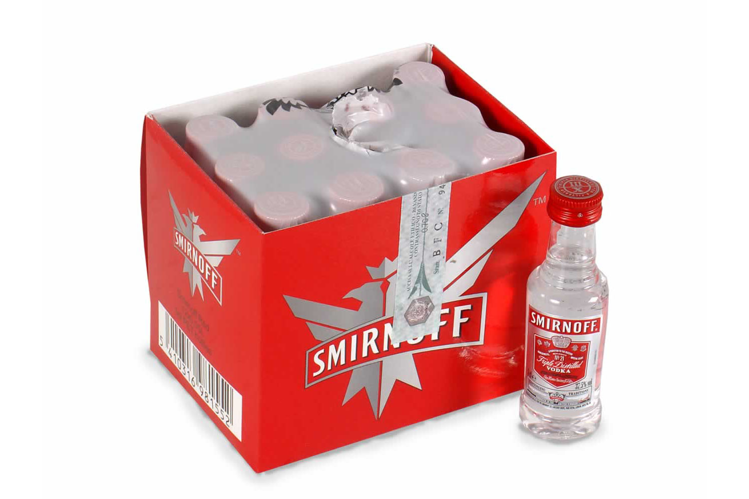 WODKA SMIRMOFF RED 5 CL