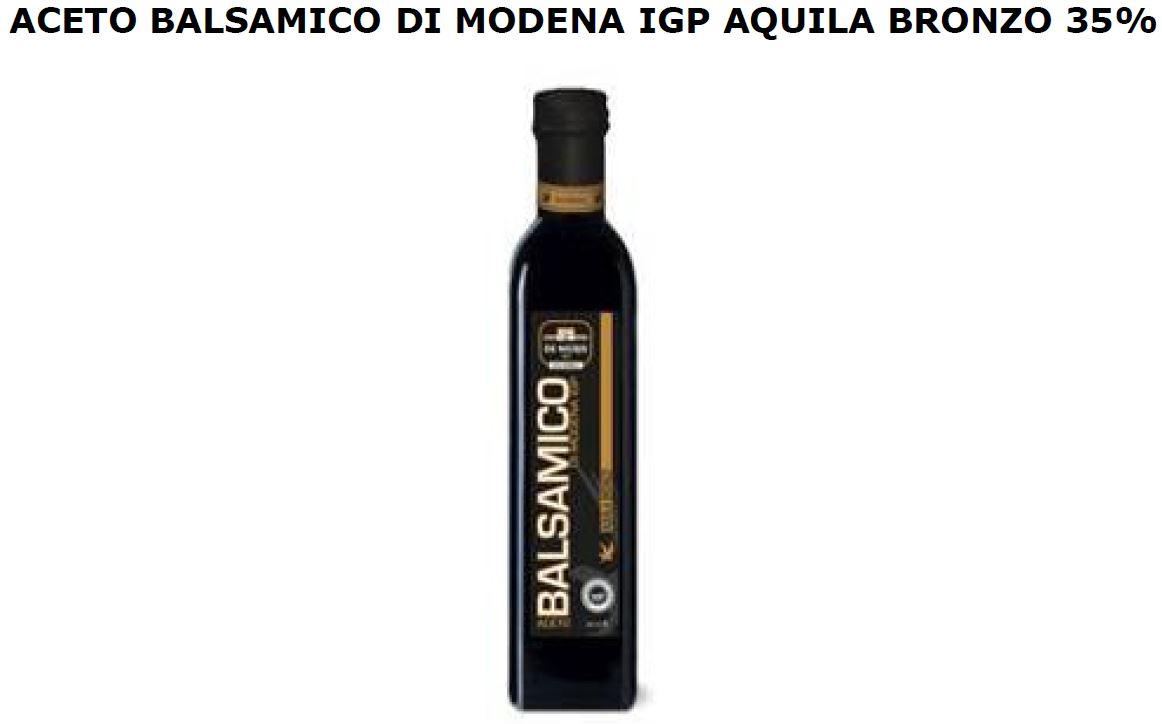 ACETO BALSAMICO DI MODENA IGPML 500 AQUILA DI BRONZO DE NIGRIS